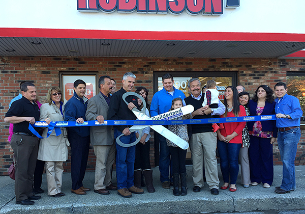 robinson s ace rental place grand opening ribbon cutting